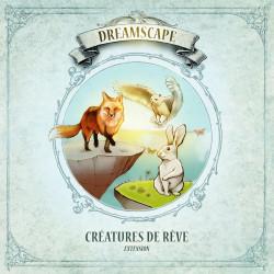 Boîte du jeu de société Dreamscape - Créatures de Rêve