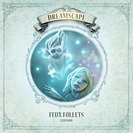 Boîte du jeu de société Dreamscape - Feux Follets