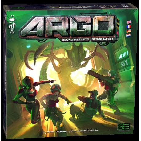 Boîte du jeu de société Argo