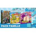 Assortiment de jeux de société Pack Famille