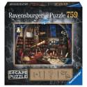 Boîte du jeu de société Escape puzzle - Observatoire astronomique