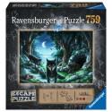 Boîte du jeu de société Escape puzzle - Histoires de loups
