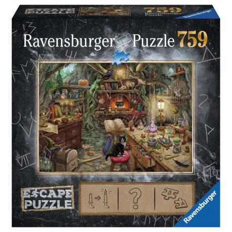 Boîte du jeu de société Escape puzzle - Cuisine de sorcière
