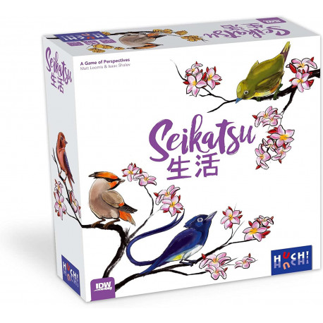 Boîte du jeu de société Seikatsu