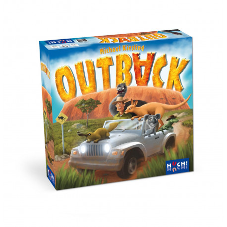 Boîte du jeu de société Outback