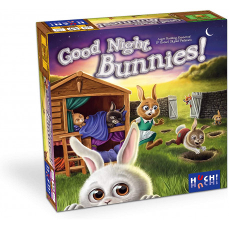 Boîte du jeu de société Good Night Bunnies