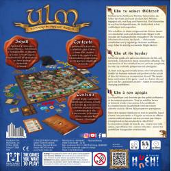 Ulm le dos de la boite
