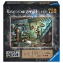 Boîte du jeu de société Escape puzzle - La Cave de la Terreur