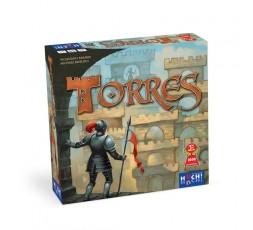 La boite du jeu de société Torres