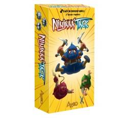 Boîte du jeu de société Ninjaaa'tack