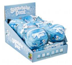 Boîte du jeu de société Snowman Dice (Présentoir de 12 unités)