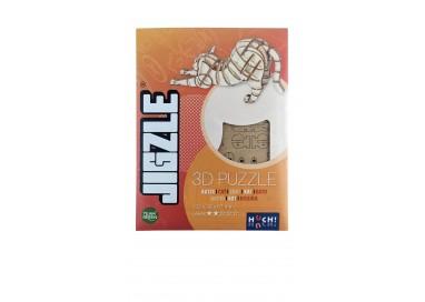 Boîte du jeu de société Jigzle Chat étiré