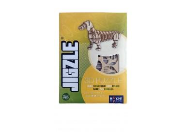 Boîte du jeu de société Jigzle Chien basset