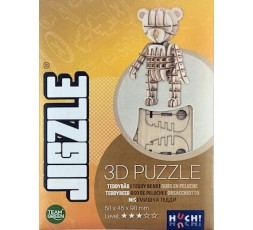 Boîte du jeu de société Jigzle Ours en peluche