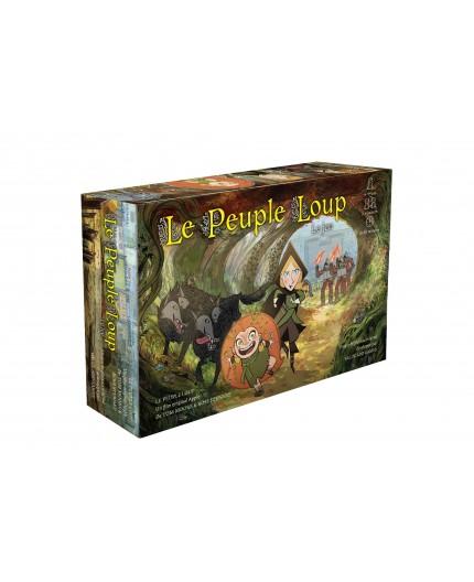 Boîte du jeu de société Le Peuple Loup