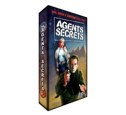 Le dos de la boite du jeu de société Agents secrets