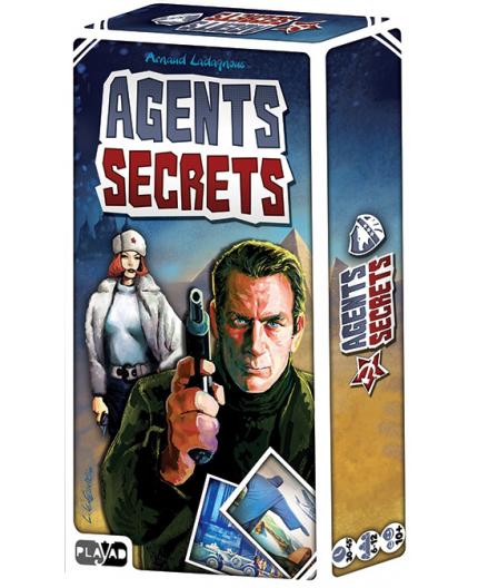 La boite du jeu de société Agents secrets