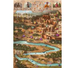 Le plateau du jeu de société Agra