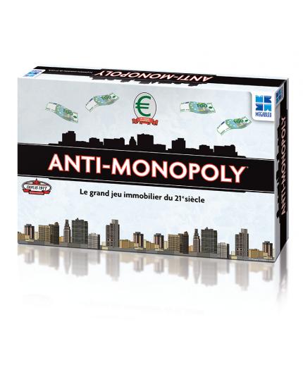 La boîte du jeu de société Anti Monopoly
