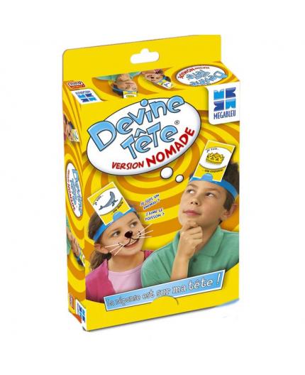 La boîte du jeu de société Devine Tête Version Nomade