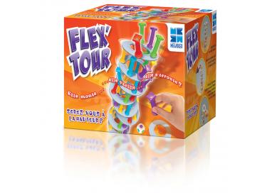 La petite boîte du jeu de société Flex Tour