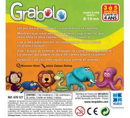 Le dos de la boite du jeu de société Grabolo