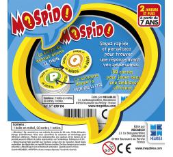 Le dos de la boîte du jeu de société Mospido