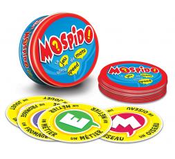 Le matériel du jeu de société Mospido