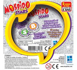 Le dos de la boîte du jeu de société Mospido Stars