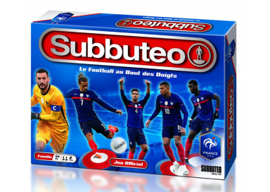 La boîte du jeu de société Subbuteo Fédération Française de Football