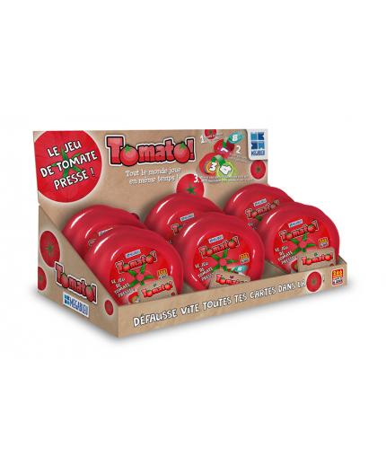Le Présentoir de 6 boîtes du jeu de société Tomato