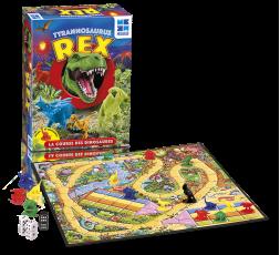 La boîte et le matériel du jeu de société Tyrannosaure Rex