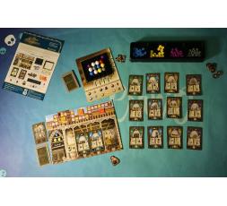 Le matériel du jeu Masters of Renaissance