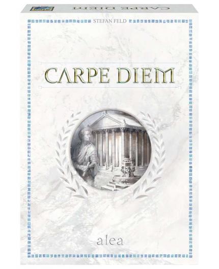 La boite du jeu de société Carpe Diem