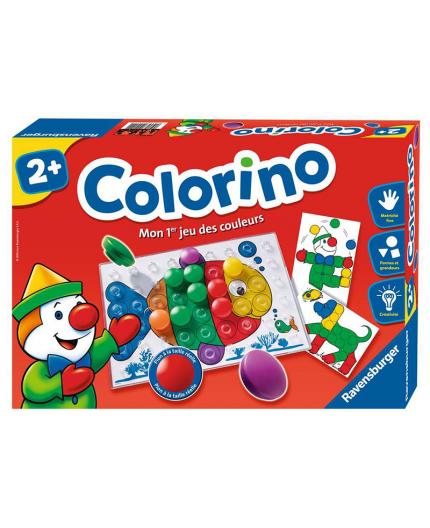 La boite du jeu de société Colorino