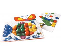 Le matériel du jeu Colorino