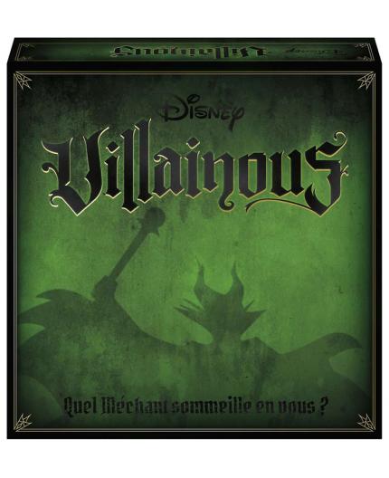 La boite du jeu de société Disney Villainous