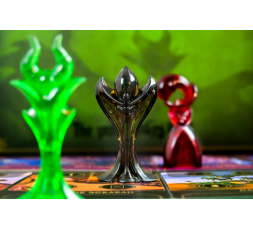 3 des 6 célèbres Méchants du jeu Disney Villainous