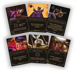 Les cartes du jeu Disney Villainous