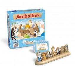 La boite du jeu de société Archelino avec le matériel