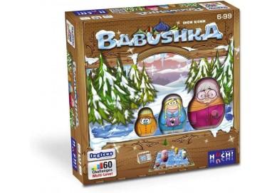La boite du jeu de société Babushka
