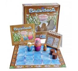 La boite du jeu de société Babushka avec le matériel