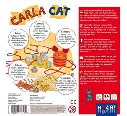 Le dos de la boite du jeu de société Carla Cat