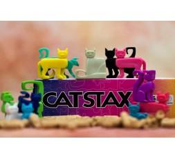 Les chats du jeu de société Cat Stax