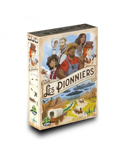 La boite du jeu de société Les Pionniers