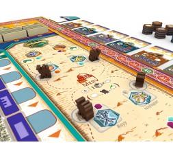 Vue sur les routes commerciales du jeu Merv