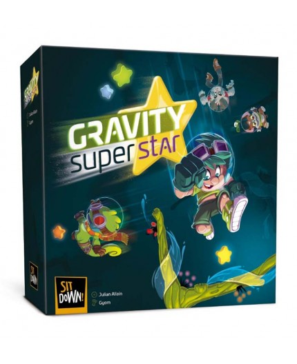 La boite du jeu de société Gravity Superstar