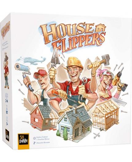 La boite du jeu de société House Flippers