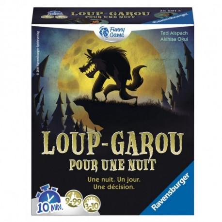Boîte du jeu de société Loup Garou pour une Nuit