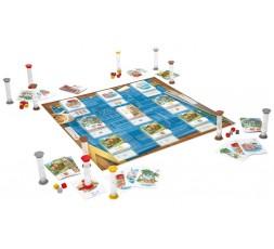 Le matériel du jeu de société House Flippers